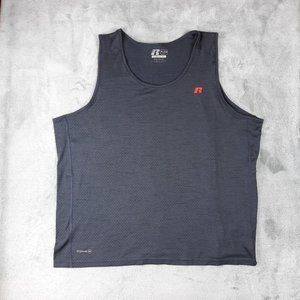 4/$25 Russell Grey Training Fit DriPower Gym Tank